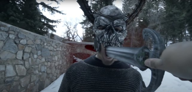 Im 'Skyrim Badass-'Video von RocketJump werden keine Gefangenen gemacht.