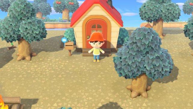 So sieht euer erstes Haus in Animal Crossing: New Horizons aus.