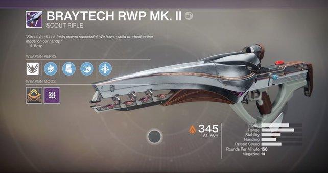 BrayTech RWP MK. II: Die legendäre Version der Polaris-Lanze kann sich sehen lassen.
