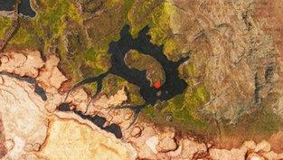 Fundorte der Lemurischen Steine