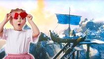Coole Wikinger segeln nicht, sondern fahren Achterbahn