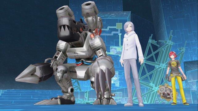 Digimon Story - Cyber Sleuth: Da kann euer Charakter nur große Augen machen...