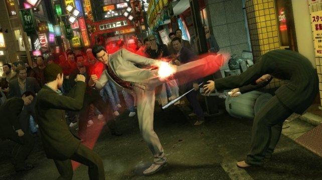 Trotz seperater Kampfbildschirme kommt die Action nicht zu kurz.