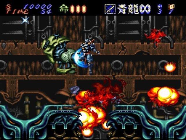 Ein Prüfstein auf dem SNES: Was heute Dark Souls in Sachen Schwierigkeit ist, wurde damals unter anderem von Hagane repräsentiert.