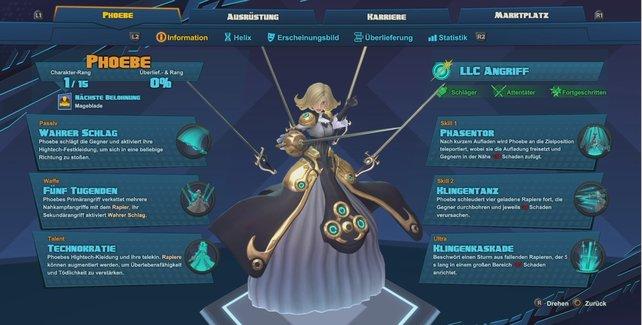 Helden vom Last Light Consortium: Phoebe