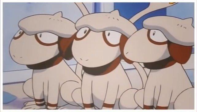 So sieht Farbeagle in der Anime-Serie aus.