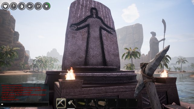 Altare gehören zu den besonderen Bauten in Conan Exiles.