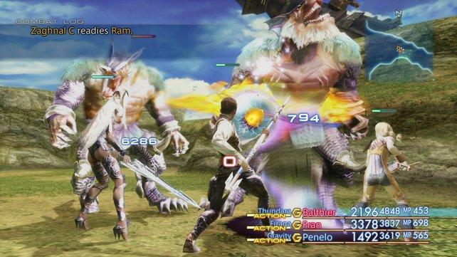 Das Kampfsystem von Final Fantasy 12 bringt eine ganz eigene Dynamik mit sich.