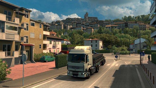 Inzwischen transportiert ihr Waren nicht nur nach Osteuropa, Skandinavien und Frankreich, sondern auch nach Italien.