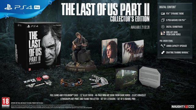 Das Highlight der Collector's Edition von The Last of Us 2 ist gewiss die Statue von Ellie.