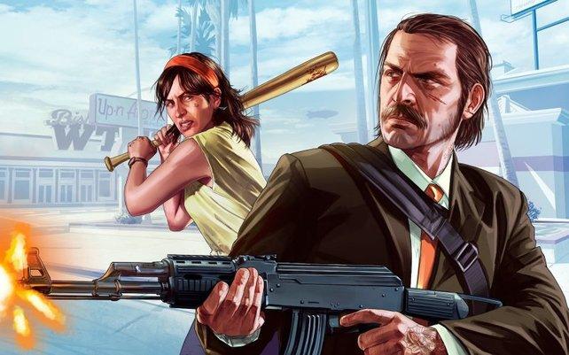 Don't trust nobody: In GTA Online werdet ihr oft von anderen Spielern platt gemacht.