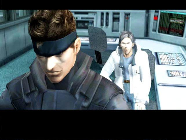 Remake von Metal Gear Solid auf Gamecube: Vor allem die Gesichtszüge sind auf Gamecube erheblich stimmiger gelungen.