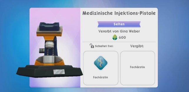 Es gibt unzählige solcher Erbstücke in Die Sims Mobile.
