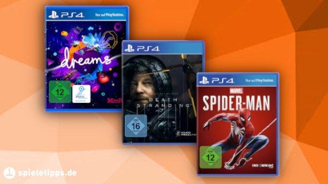 Amazons Gaming-Week: Top-Spiele für die PS4 im Angebot