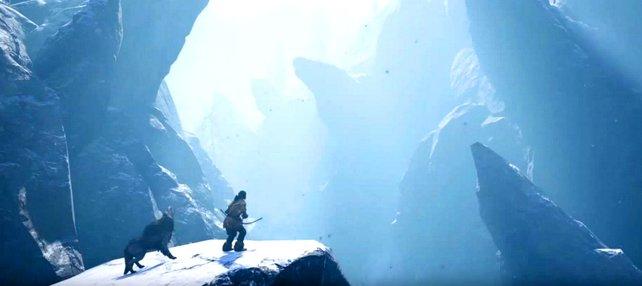 Far Cry Primal: Brrr, ist das kalt. Mit der passenden Winterkleidung übersteht ihr die Kälte.