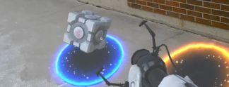 Portal trifft auf Augmentierte Realität