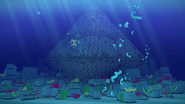 Unter Wasser findet ihr die beeindruckende Karo-Insel.