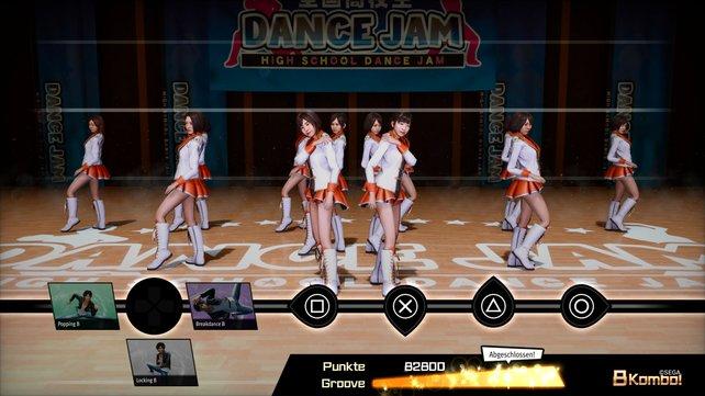 In schicken Outfits müsst ihr vor einer Jury eure Tanzfähigkeiten beweisen.