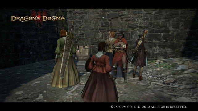 Nebenquest Ruinen der Himmelszinnenfestung: Dümmliche be: Dragons on
