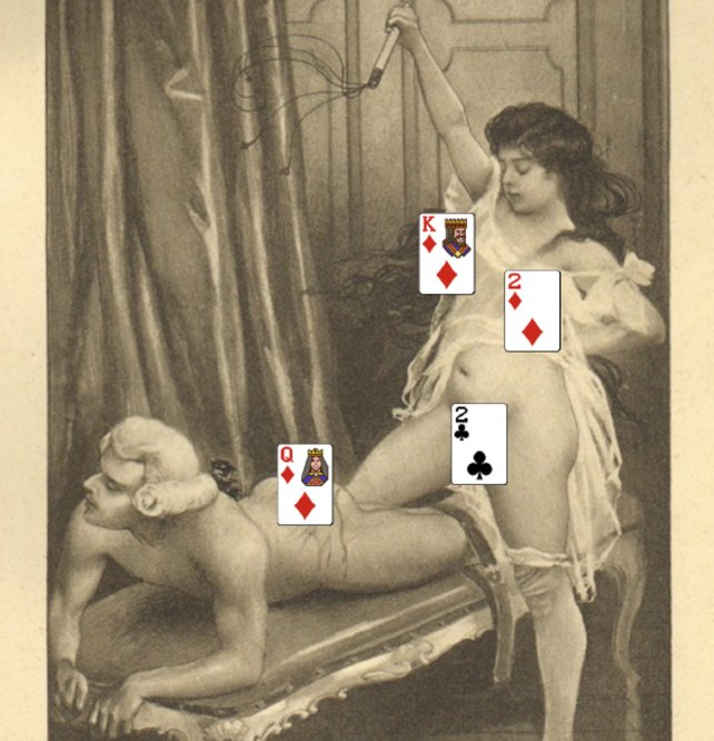 Bei Punishment handelt es sich um ein Kartenspiel