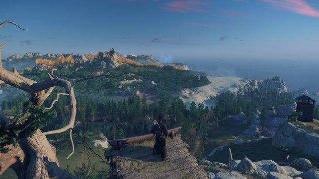Die Spielwelt ist von beeindruckender Schönheit, sodass ihr immer wieder innehalten und staunen werdet.