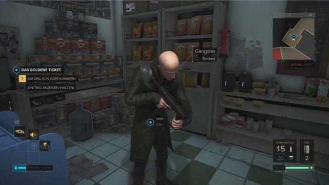 Dieser Schläger erschießt Edward, wenn ihr euch nicht schnell um ihn kümmert.