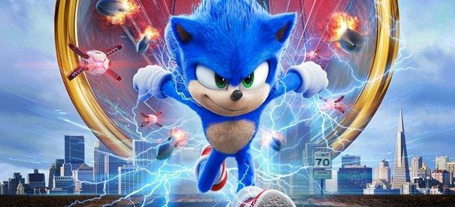 Der neue Sonic sprintet ins Kino.