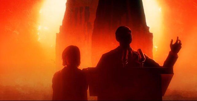 In Far Cry 6 müsst ihr einen finsteren Diktator stürzen. Immer an seiner Seite: Sein Sohn Diego, dessen Rolle noch unklar ist.