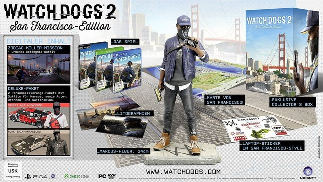 Watch Dogs 2: San Francisco Edition