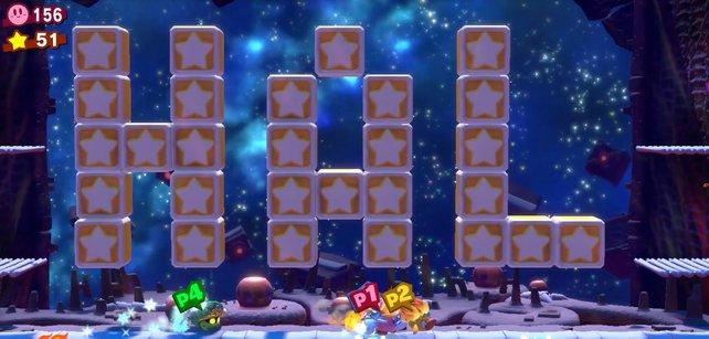 So sieht der HAL-Raum in Kirby Star Allies aus.
