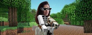 Das Skelettpferd in Minecraft: Ich bin eine von 0,75 Prozent