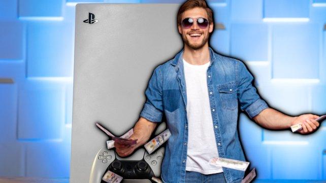 """Ein 16-jähriger """"Geschäftsmann"""" hat gut lachen: Das Aufkaufen begrenzter PS5-Konsolen hat ihm ein kleines Vermögen eingebracht. Bildquelle: spieletipps, Getty Images/opolja."""