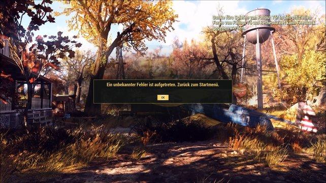 Gerade zum Launch wurde Fallout 76 von zahlreichen Bugs geplagt