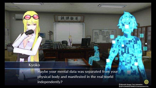 Die Privatdetektivin Kyoko will euch bei eurem Dilemma helfen.