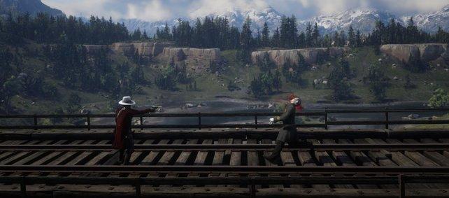 So ästhetisch können Erschießungen in Red Dead Redemption 2 aussehen.