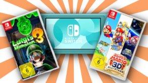 Konsolen, Spiele und Joy-Cons stark reduziert