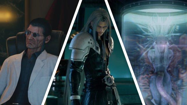 Indem er die Zellen des Außerirdischen Organismus' Jenova in den noch ungeborenen Sephiroth injizierte, erschuf Hojo den ersten SOLDATen.