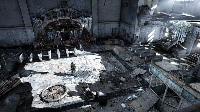 Die Welt der verfallenen U-Bahn-Stationen Moskaus ist faszinierend und erschreckend zugleich.