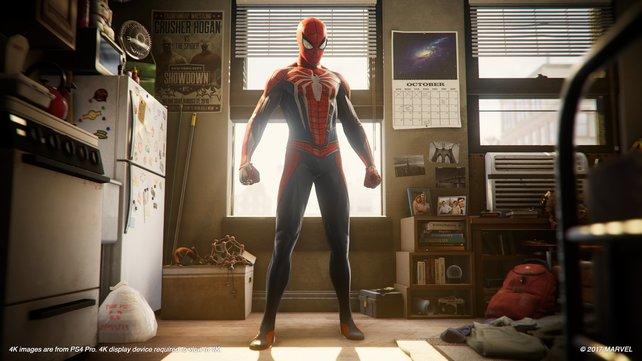 So sieht also der Unterschlupf eines Superhelden aus.