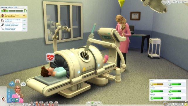Interessante Operationen stehen euch mit dieser Maschine bevor.