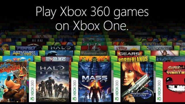 Abwärtskompatibilität bei der Xbox One: In der Liste findet ihr alle abwärtskompatiblen Xbox 360-Spiele.