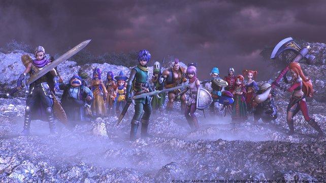 Ihr könnt eure Vierergruppe aus über 20 alten und neuen Charakteren zusammenstellen.