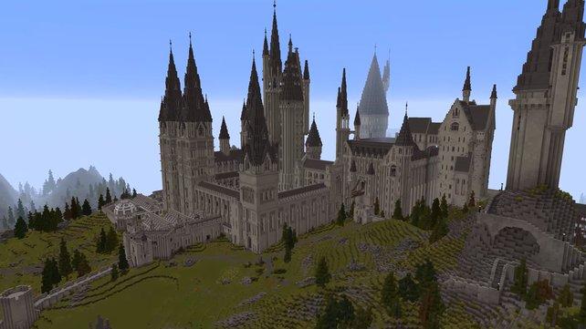 Nicht nur die Schule für Hexerei und Zauberei wurde von den Fans detailgetreu umgesetzt.