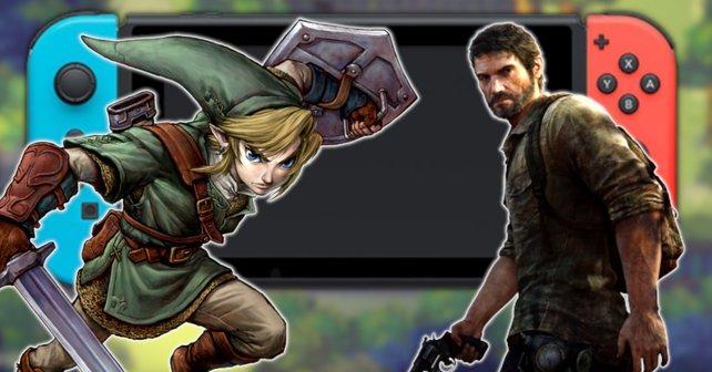 Zelda und The Last of Us scheinen einen neuen Geheimtipp für die Switch maßgeblich zu beeinflussen. (Bildquelle: Nintendo, Chucklefish, Naughty Dog)