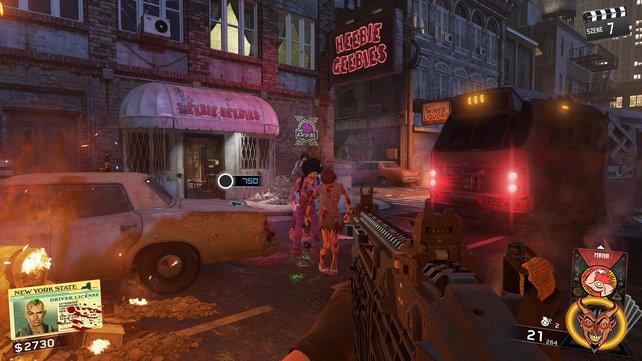 New Yorker Zombies bestechen nicht nur durch ihre Haarpracht, sondern auch durch Rollschuhe.