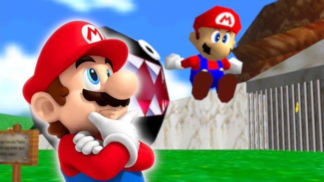 Nintendo hat in Super Mario 3D All-Stars einen alten Schreibfehler übersehen.