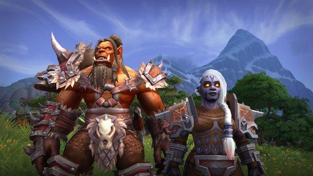 Wer die neue Erweiterung als Darkeisenzwerg oder Mag'har Orc spielen will schaut erstmal in die Röhre, denn deren Freischaltung ist erst später möglich.