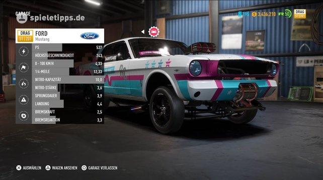 Seit dem 17. Juli 2018 könnt ihr euch Big Sisters Ford Mustang schnappen.