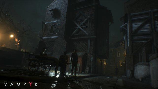 """Mutige aber beabsichtigte Entscheidung der Entwickler: """"Vampyr"""" spielt ausschließlich bei Nacht."""