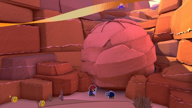 Origami-König Olly sind alle Mittel recht, um seine Schwester aufzuhalten.